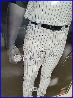 Derek Jeter & Mariano Rivera Dual Signed Yankees 16x20 Photo FRAMED Steiner COA