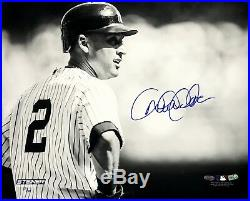 Derek Jeter signed 16x20 photo framed Yankees coin autograph Steiner COA LE /100