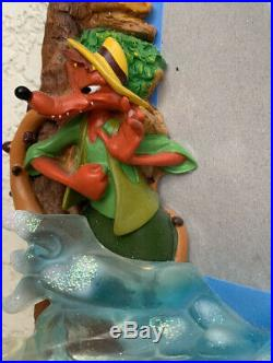 Disney World Splash Mountain Ride 3-D Picture Frame 6.5 X 8.5 Sign Prop Rare