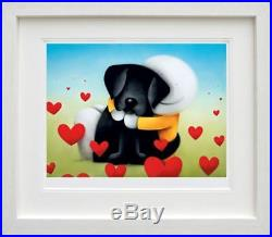 Doug Hyde Ltd Edition Picture Head Over Heels Brand New Framed with COA REDUCED