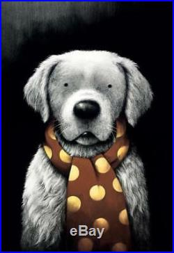 Doug Hyde Ltd Edition Picture Mans Best Friend Brand New Framed with COA