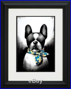 Doug Hyde Ltd Edition Picture Parisian Chic Brand New Framed with COA