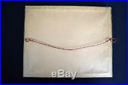EDWARD S CURTIS Signed Stamped PLATINUM PRINT Photo PREPARING FOR WINTER 1906