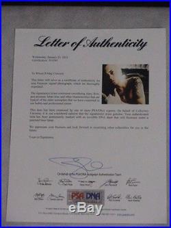 EMINEM Hand Signed & Framed 16x20 Photo +PSA DNA LOA BUY 100% GENUINE EMINEM
