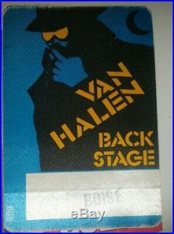 Eddie Van Halen Signed autographed Framed photo + 2 guitar pick VIP pass COA