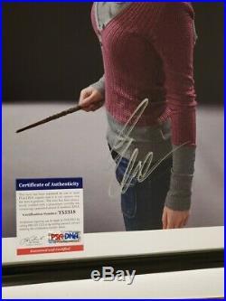 Emma Watson signed Photo PSA DNA Harry Potter Hermoine Granger (Framed)