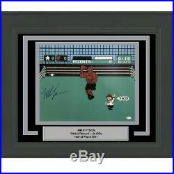 FRAMED Autographed/Signed MIKE TYSON Punchout Nintendo Game 16x20 Photo JSA COA