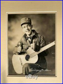 Father of Country Music JIMMIE RODGERS Signed Autographed Framed Photo