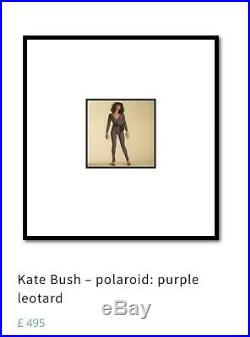 For Lionhearts OOAK Kate Bush original Polaroid photo by Gered Mankowitz