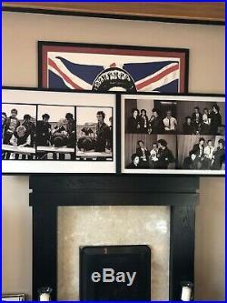 Framed Original Sex Pistols Press Conference Peter Kodick Gravelle Signed Print