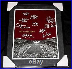 Framed Redskins Signed Legends Sonny Jurgensen, John Riggins 16x20 Photo JSA
