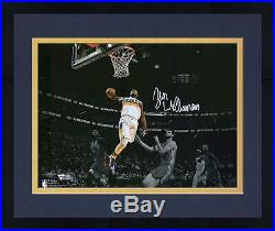 Framed Zion Williamson New Orleans Pelicans Signed 11 x 14 Spotlight Photo