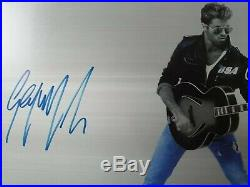 GEORGE MICHAEL Genuine 10x8 signed photo Wonderful ready for framing with COA