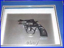 Goodfellas Ray Liotta Signed Framed Shadow Box Photo Gun Prop Display Gangster +