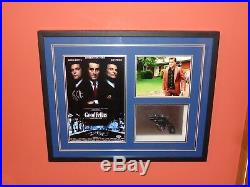 Goodfellas Ray Liotta Signed Framed Shadow Box Photo Gun Prop Display Gangster +