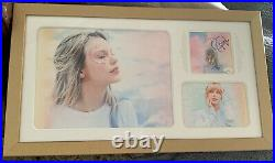 Gorgeous Taylor Swift Lover SIGNED PHOTO Autograph JSA COA FRAMED Double Matted