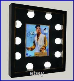 Great PRINCE Signed AUTOGRAPH PHOTO, Lighted Frame, UACC, COA, Rogers Nelson