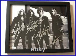 Greta Van Fleet Band Autographed Signed Framed 8x10 Photo Jsa Loa Coa # Bb60771