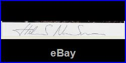 Helmut Newton Brigitte Nielsen'Côte d'Azur Hand signed