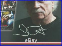 JOHN CARPENTER Signed 10x13 Photo FRAMED Halloween Autograph BECKETT BAS COA