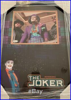 Jack Nicholson Signed 8x10 Custom Framed Joker Batman Photo JSA LOA PSA BAS