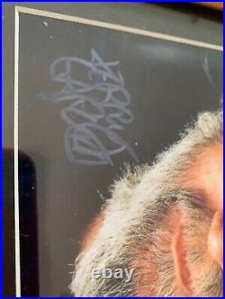 Jerry garcia framed signed photo