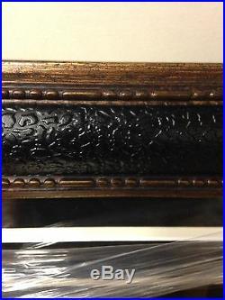 Jim Brown Bill Russell Dual Signed 20x30 Framed Dual JSA New Super Sweet