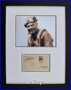 Jimmy Doolittle with Signed Curtis Airplane Envelope Doolittle Raiders Photo