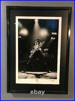 Jimmy Page Signed and Numbered 16x20 Silver Gelatin Fine Art Print #6/50