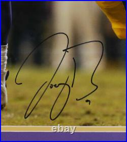 Joe Burrow Signed Framed LSU Tigers 16x20 Football Photo Fanatics
