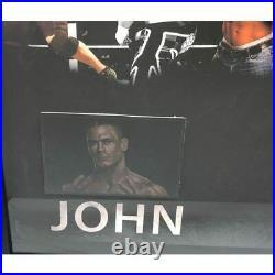 John Cena Hand Signed Framed Wwe Wrestling Title Championship Belt Photo Proof