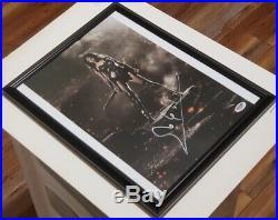 Justice League Gal Gadot Wonder Woman signed 11x14 Photo PSA DNA Framed
