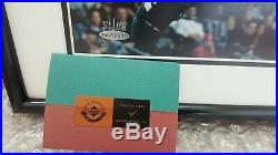 KOBE BRYANT framed 16x20 signed uda Photo limited edition 51/108 Autographed