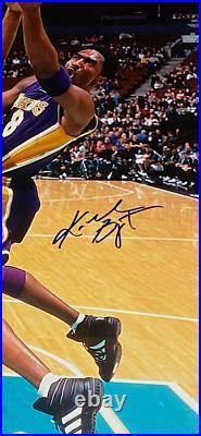 KOBE BRYANT signed autographed 16X20 FRAMED PHOTO LA LAKERS MOUNTED MEMORIES COA