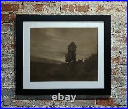 Karl Moon Indian Chief on Horse Original 1914 Photograph