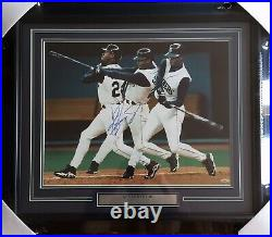 Ken Griffey Jr. Autograhed Signed Framed 16x20 Photo Seattle Mariners