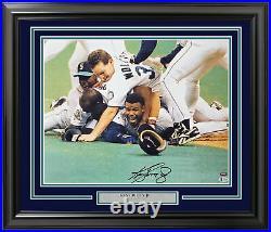Ken Griffey Jr. Autographed Signed Framed 16x20 Photo 1995 Pile Beckett 191227