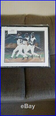 Ken Griffey Jr Signed Mariners Framed Auto 16x20 UDA NUmber out of 45/240