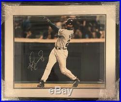 Ken Griffey Jr Signed Matted & Framed 16x20 Photo Upper Deck Authentic Uda Cert