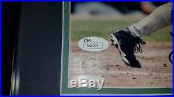 Ken Griffey Jr Signed Seattle Mariners Framed Autograph 8X10 Photo JSA COA HOF