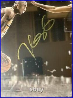 Kevin Durant Autograph Signed Thunder Kobe Bryant 16x20 Photo Framed JSA