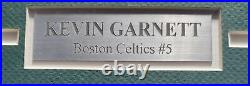 Kevin Garnett Autographed Signed Framed 3.5x10 Photo Celtics Beckett 193873