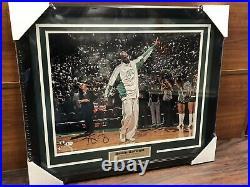 Kevin Garnett Autographed Signed & Framed Boston Celtics 16x20 Photo BAS
