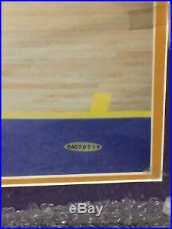 Kobe Bryant Autographed 16 x 20 Framed Signed Photo UDA Upper Deck with Holo COA