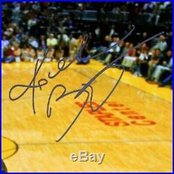 Kobe Bryant Autographed Signed 16x20 Photo Panini COA Auto Framed Mamba Forever