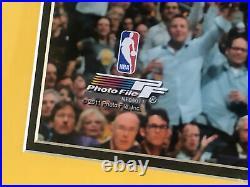 Kobe Bryant Framed And Autographed Signed 16x20 Photo Panini Hologram Authentic