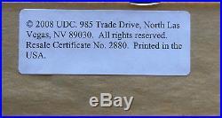 Kobe Bryant Signed 20x30 Shepard Fairey LITHO INS MVP framed auto UDA COA /50
