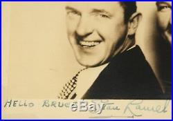 Laurel And Hardy Hand Signed Framed Publicity Photograph Uacc Registered Dealer