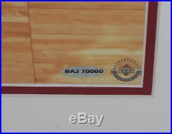 LeBron James signed autographed framed 16x20 photo! RARE! Upper Deck UDA COA