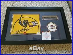 Lebron James 22 x 14 Signed Matted and Framed Autographed Photo COA Auto